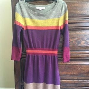 Loft size xs Sweater Dress
